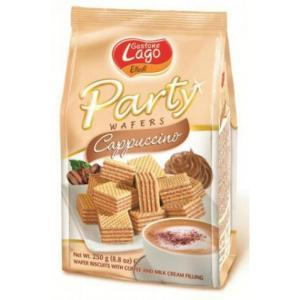 Elledi Party Wafers Cappuccino 250g