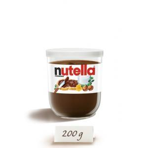 Nutella Reusable Glass Jar 200g.